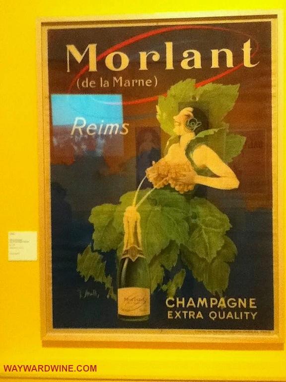 Morlant Champagne Poster