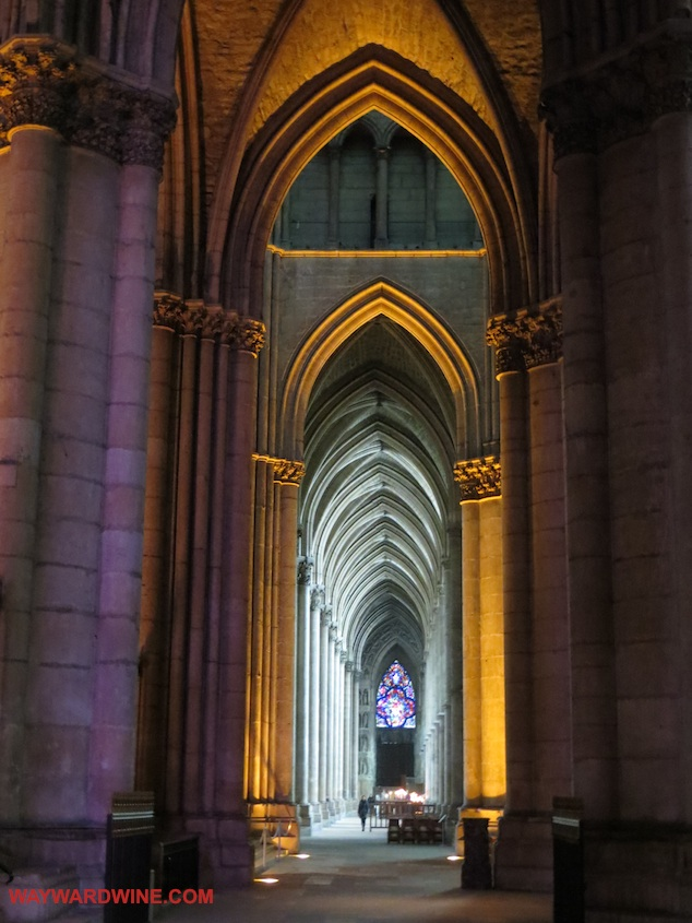 Reims Cathedral Ailse
