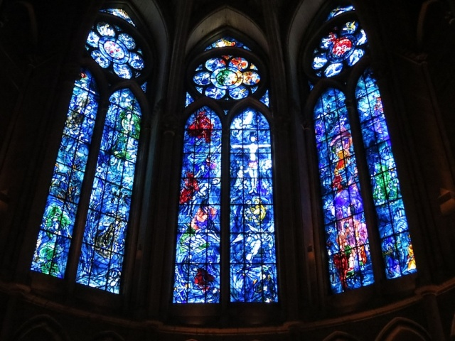 Chagall Stained Glass Reims Cathedral