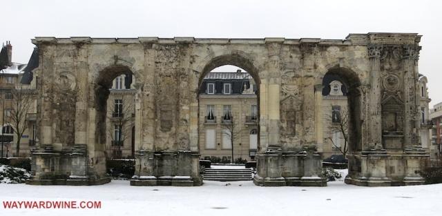 Roman Triumphal Gate Reims