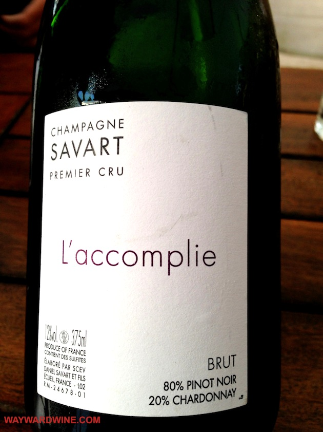 savart l accomplie champagne