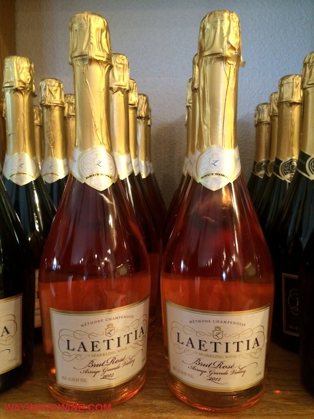 Laetitia Brut rose 2012