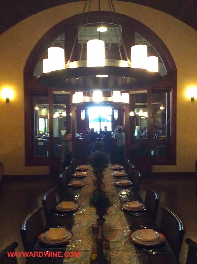 Dining at Black Stallion