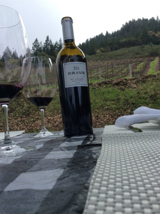 Mt Brave Napa Valley Mt Veeder Malbec 2012