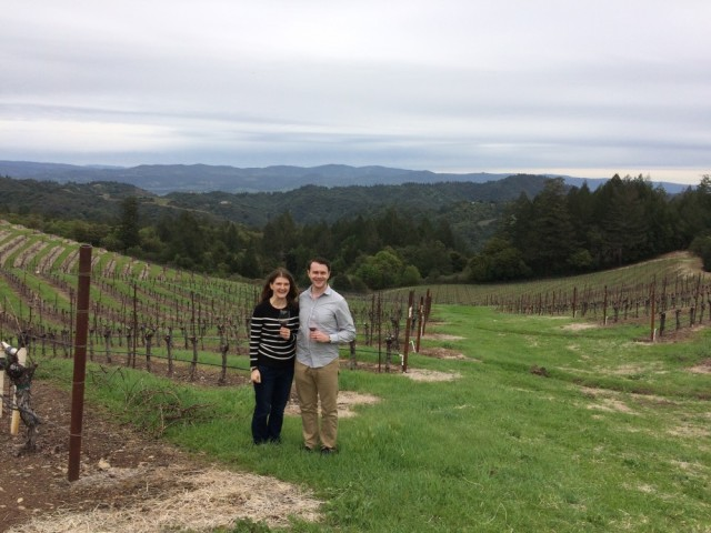 Tracy and Aaron Mt Veeder