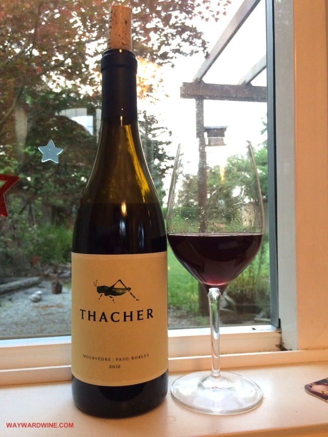 Thacher Mourvedre Paso Robles 2012