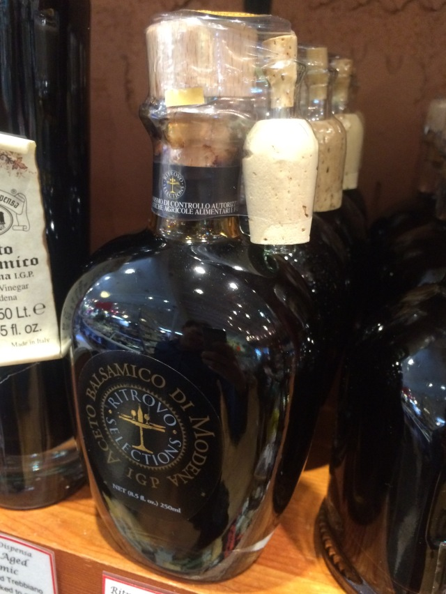 Many-corked balsamic Vinegar