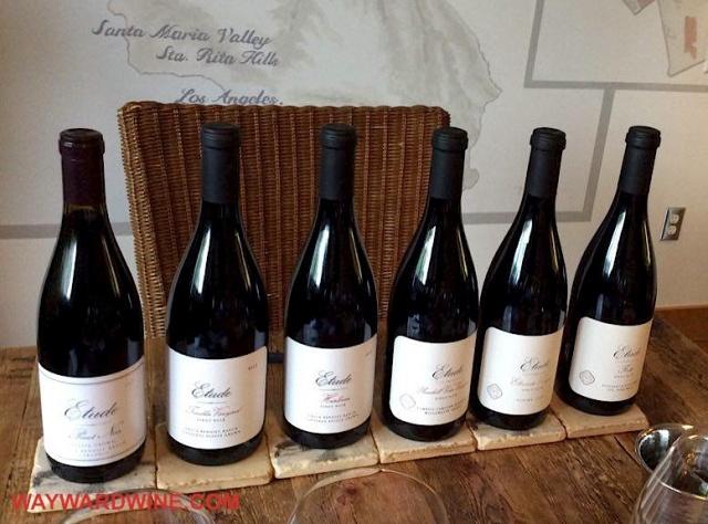 Etude Pinot Noir Line Up