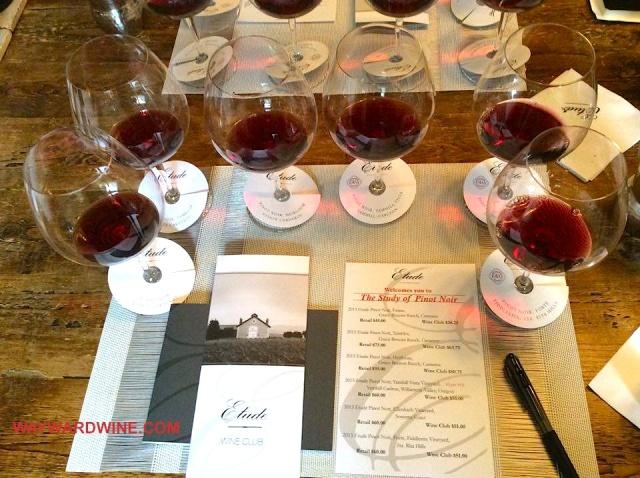 Etude Winery Carneros Pinot Noir Glasses
