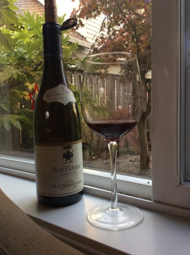 Chapoutier 2007 Hermitage France Sizeranne Wine