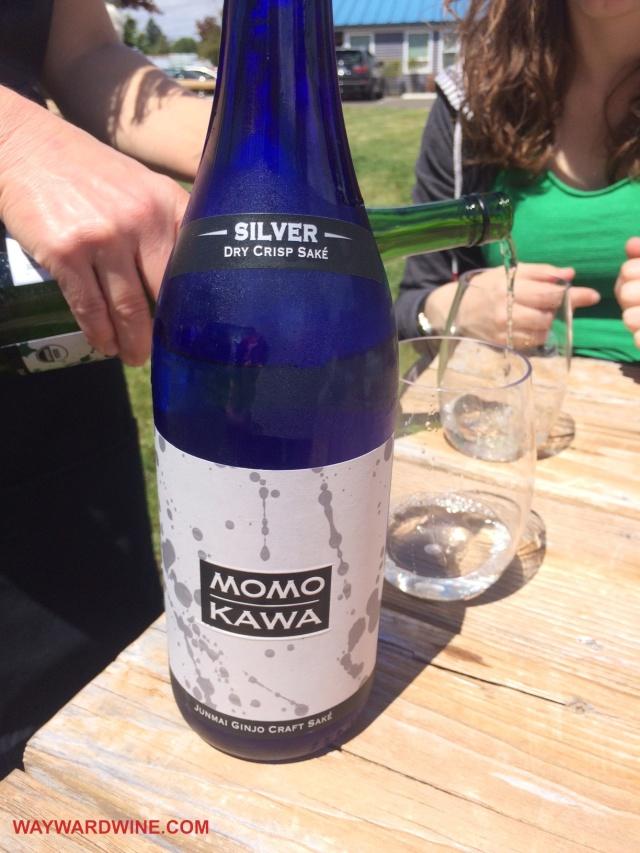 MomoKawa Silver Junmai Ginjo Dry Sake