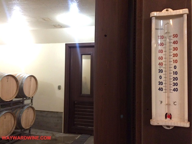 Newton Thermometer Barrel Room