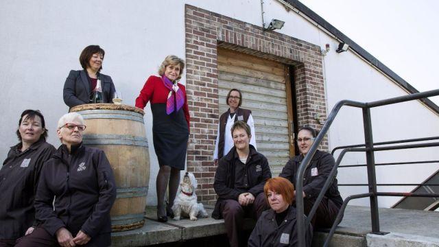 Champagne Carol Duval-Leroy and Sandrine Logette-Jardin