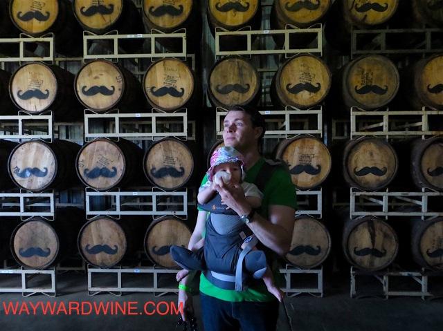 Hallimaile Distillery Barrels Alexandria Aaron