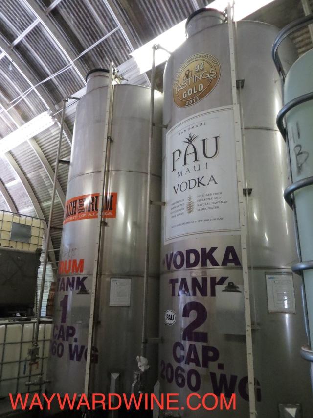 PAU vodka Tanks