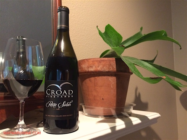 Croad Petite Sirah Paso Robles 2012