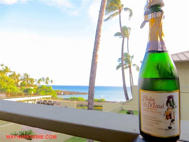 Hula o Maui Sparkling Pineapple Wine