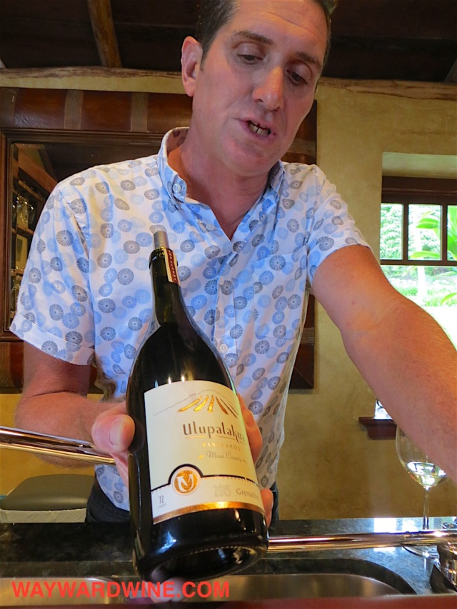 Maui Winery Grenache present