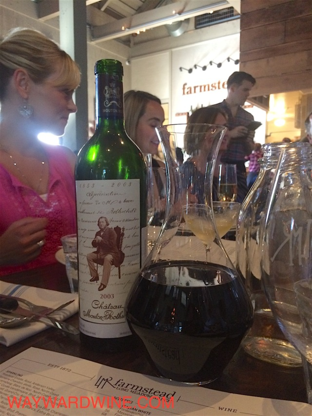 2003 Mouton Rothschild Bordeaux