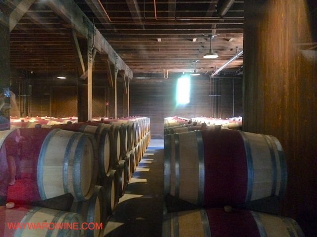 Trefethen Barrel Room