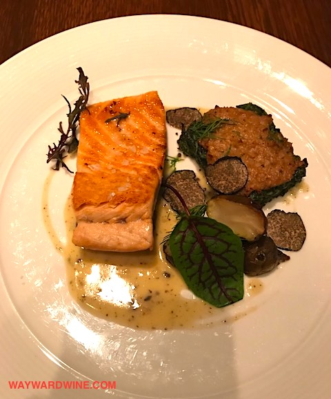Salmon truffle magic Paleys