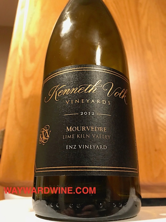 Kenneth Volk Mourvedre Lime Kiln 2012