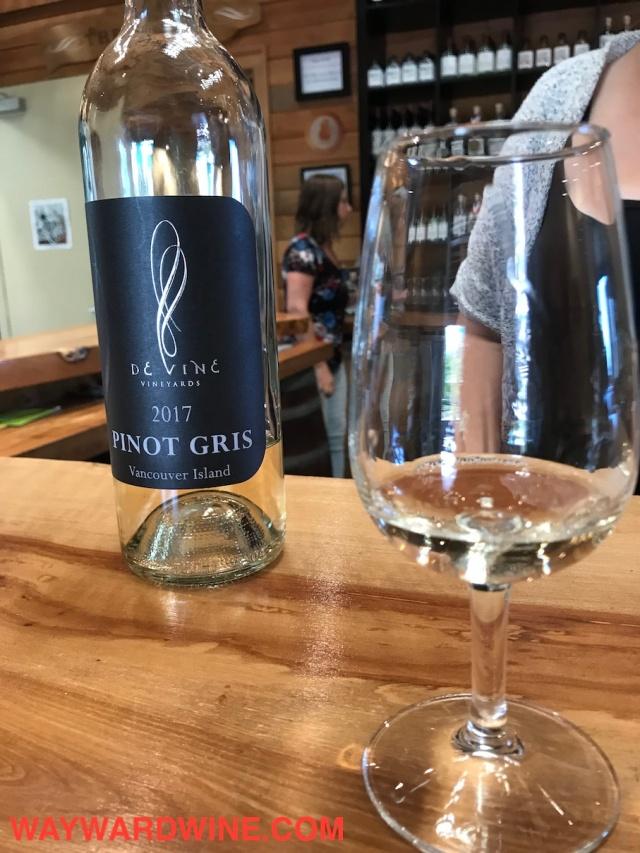De Vine Pinot Gris 2017