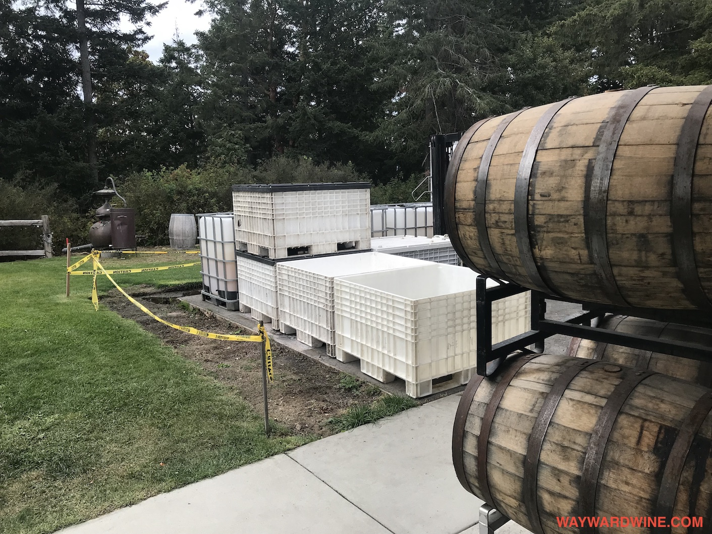 Sea Cider Barrels Tubs