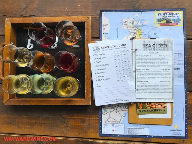 Sea CIder Sampler