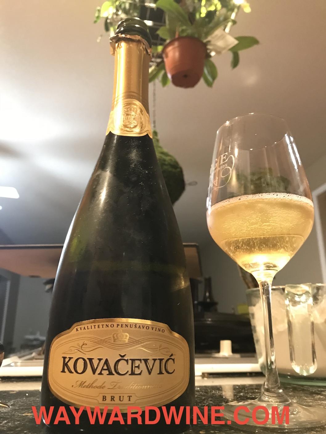 Kovacevic Sparkling Brut Serbia